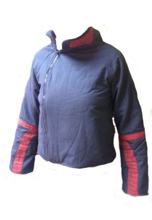 P1 Zip jacket diagonale opening with polar inside