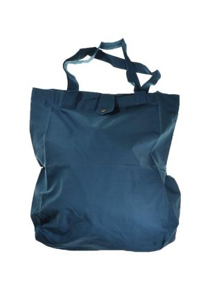 Sac tote bag coton imprimé ethnic happy blue koh tao bleu