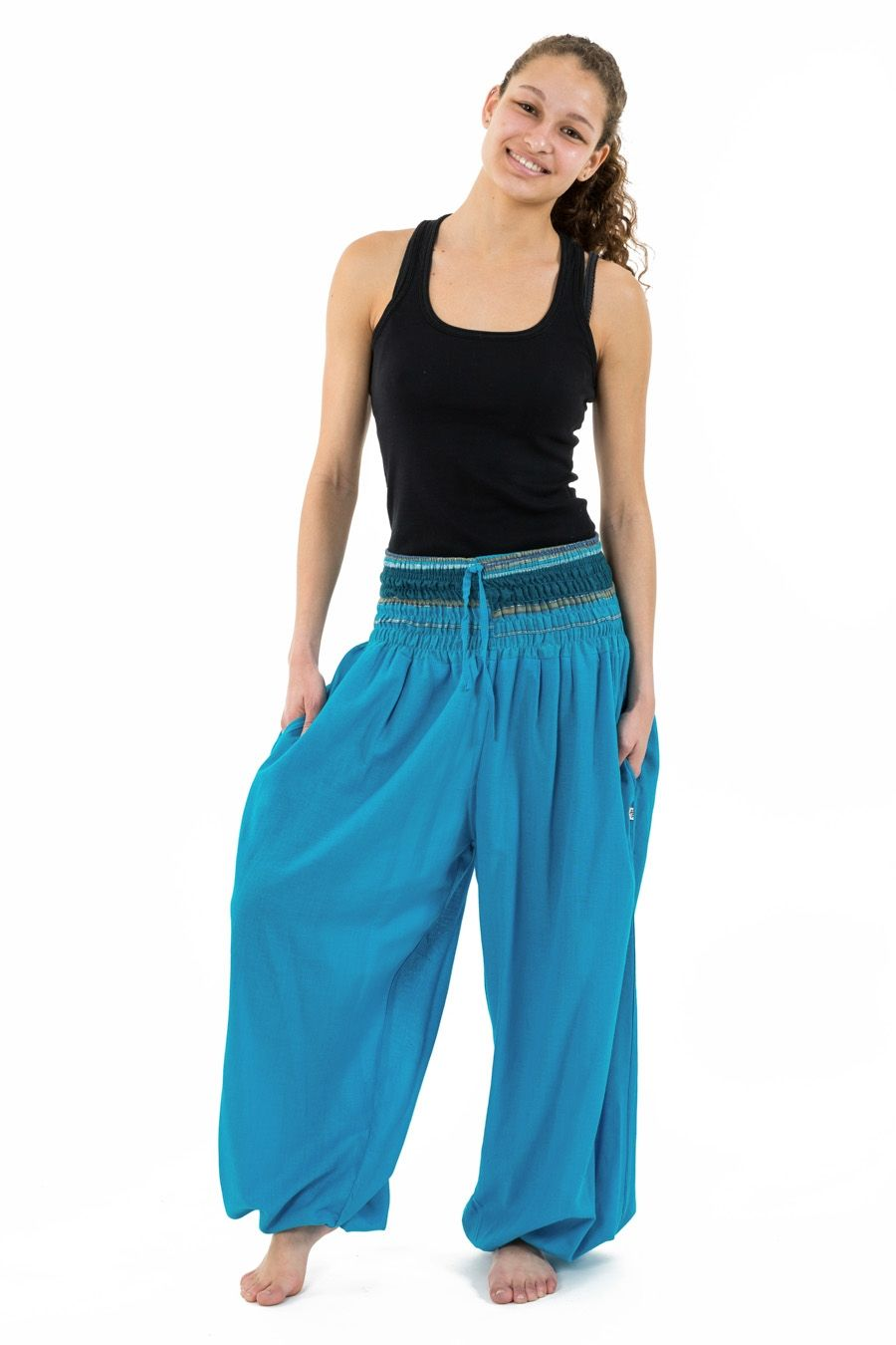 Sarouel turquoise Style baba cool chic